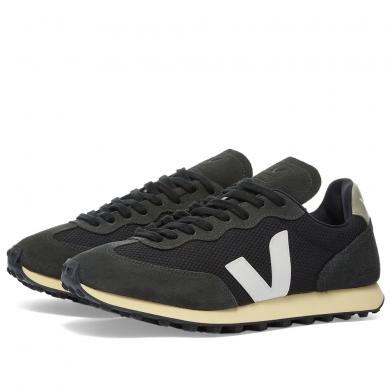 Veja Rio Branco Vintage Runner Black, White & Grey