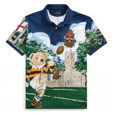 Polo Ralph Lauren Rugby Bear Polo Shirt Navy