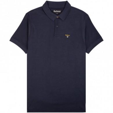 Barbour Saltire Merc Polo Shirt Navy