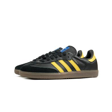 Adidas Samba OG Core Black & Yellow