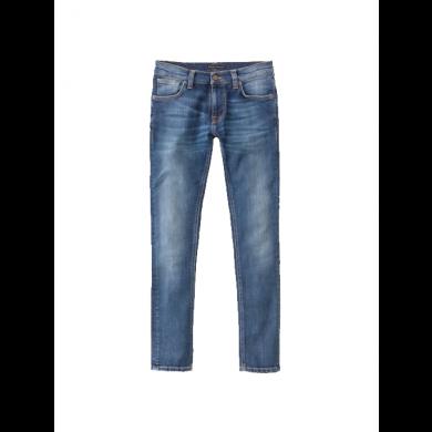 Nudie Jeans Tight Terry Sentimental Orange Blue L32