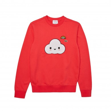 Lacoste x Friends With You Sweatshirt Red