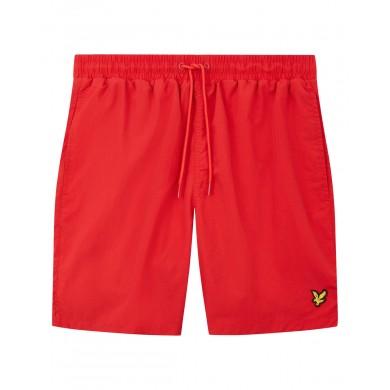 Lyle & Scott Plain Swin Shorts Gala Red