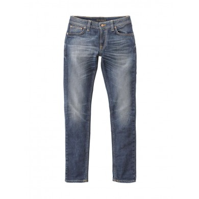 Nudie Jeans Skinny Lin Dark Double Indigo L32