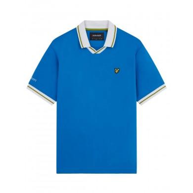 Lyle & Scott Italy Football Polo Shirt Navy