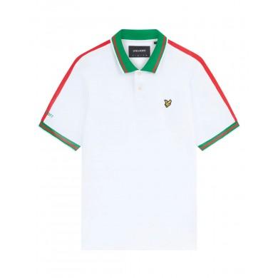 Lyle & Scott Belgium Football Polo Shirt White