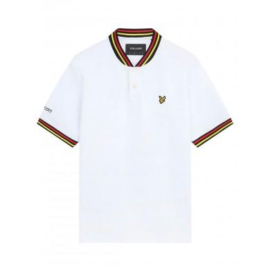 Lyle & Scott Germany Football Polo Shirt White