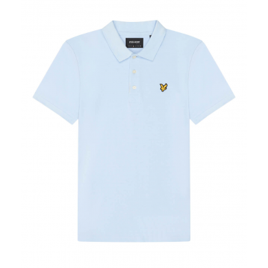 Lyle & Scott Plain Polo Shirt Deck Blue
