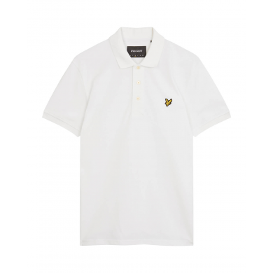 Lyle & Scott Plain Polo Shirt White