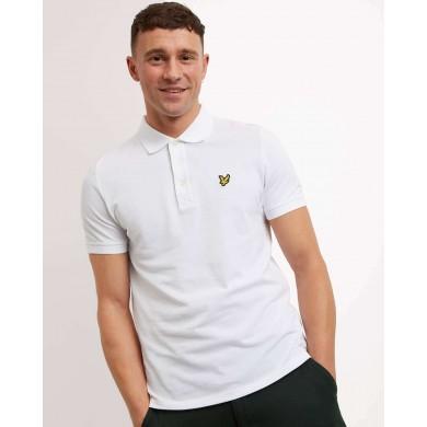 Lyle & Scott Plain Polo Shirt White