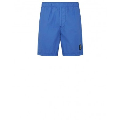 Stone Island B0946 Brushed Cotton Swimming Shorts Periwinkle