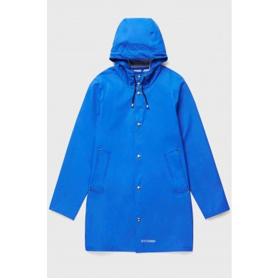Stutterheim Stockholm Lightweight Raincoat Electric Blue