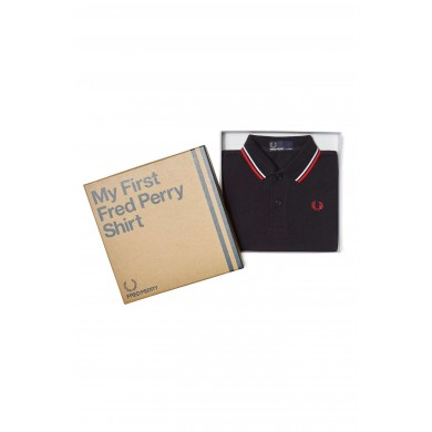 Fred Perry My First Fred Perry Shirt Navy, White & Red