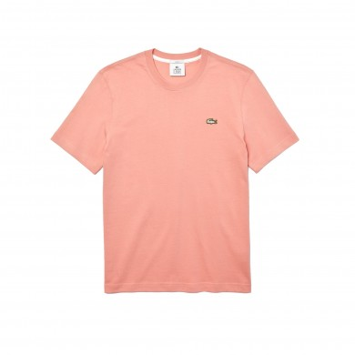 Lacoste Live Cotton Tee Pink