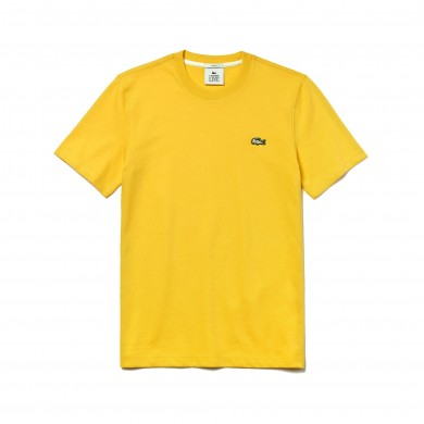 Lacoste Live Cotton Tee Yellow