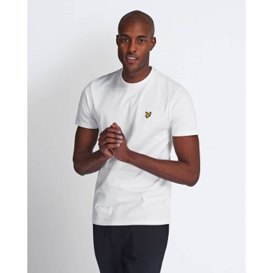 Lyle & Scott Crew Neck Tee White