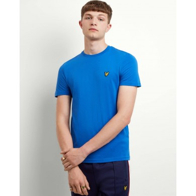 Lyle & Scott Crew Neck Tee Lake Blue