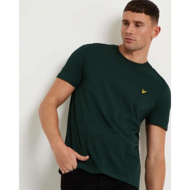 Lyle & Scott Crew Neck Tee Jade Green
