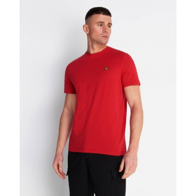Lyle & Scott Crew Neck Gala Red
