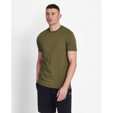 Lyle & Scott Crew Neck Tee Lichen Green