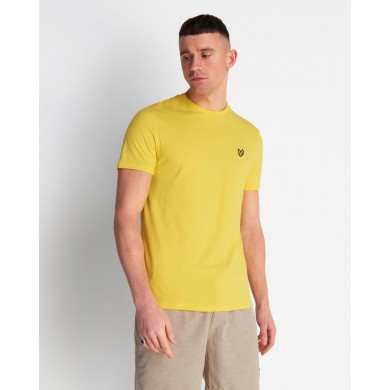 Lyle & Scott Crew Neck Tee Buttercup Yellow