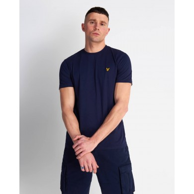 Lyle & Scott Crew Neck Tee Navy
