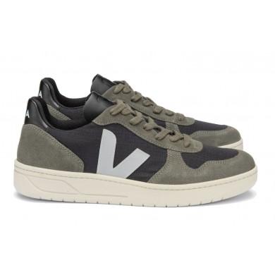 Veja V-10 Ripstop Sneaker Oxford Grey Mud