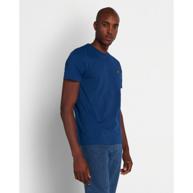 Lyle & Scott Crew Neck Tee Indigo