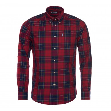 Barbour Wetheram Shirt Red