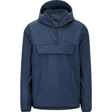 Woolrich Tech Anorak Jacket Melton Blue