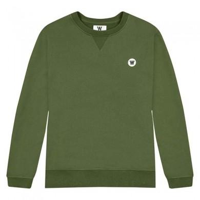Wood Wood Tye Sweatshirt Army Green