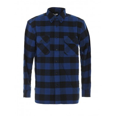 Woolrich Alaskan Buffalo Shirt Blue