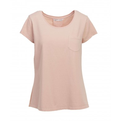 Woolrich W´s Spring Jersey Tee Pink
