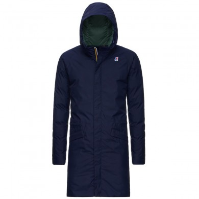 K-Way Jeremy Thermo Plus Parka 2 Blue Maritime