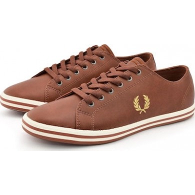 Fred Perry Kingston Leather Tan