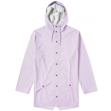 Rains Long Jacket Lavender