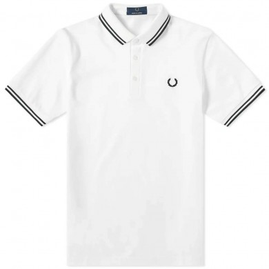 Fred Perry Made in Japan Polo White & Black