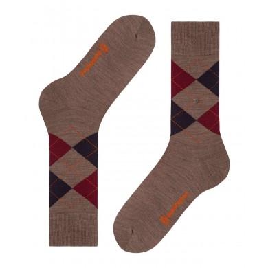 Burlington Edinburgh Socks Pebble (40-46)