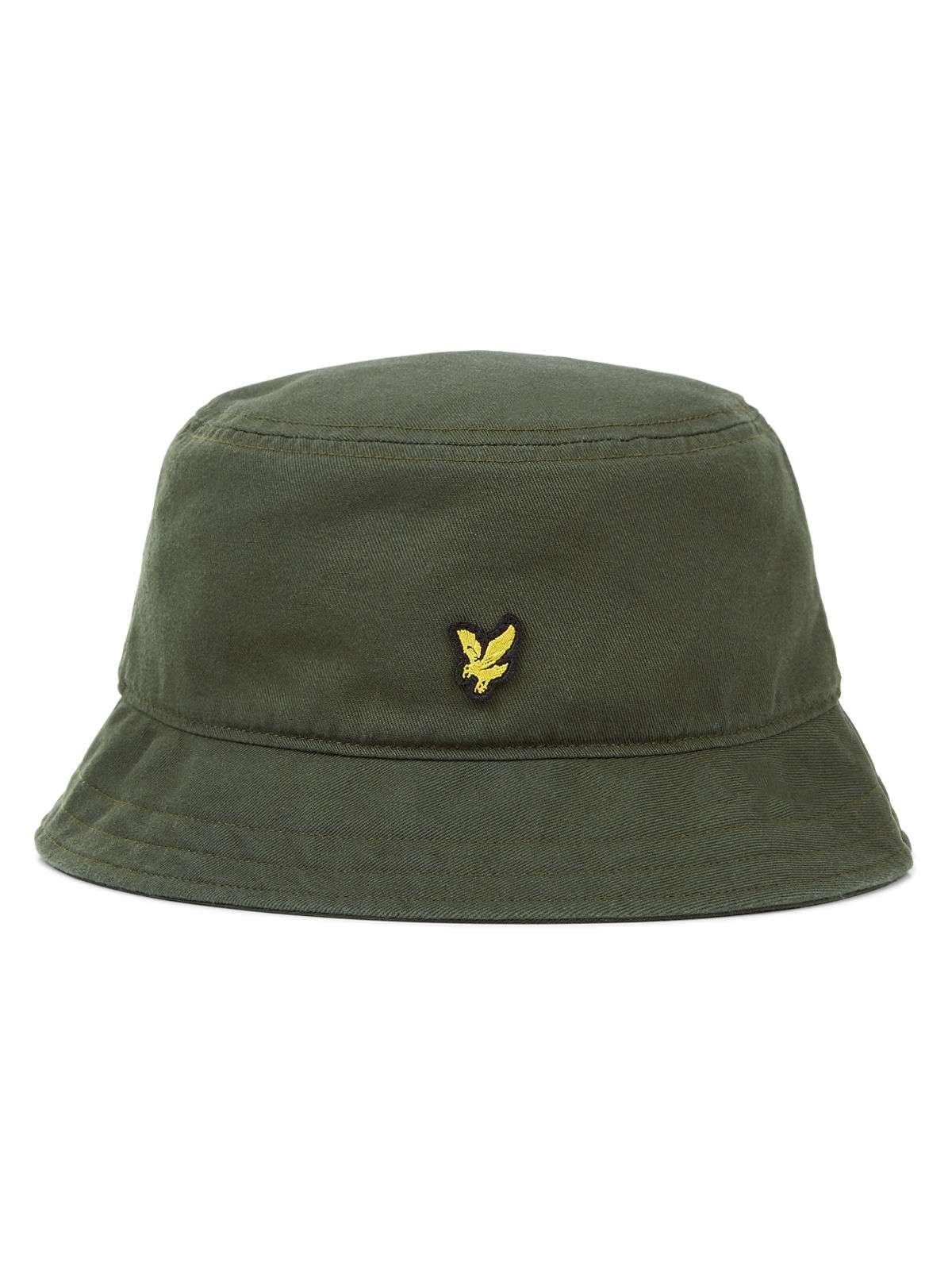 Details about Lyle   Scott Cotton Twill Bucket Hat Woodland Green 5a400599e03