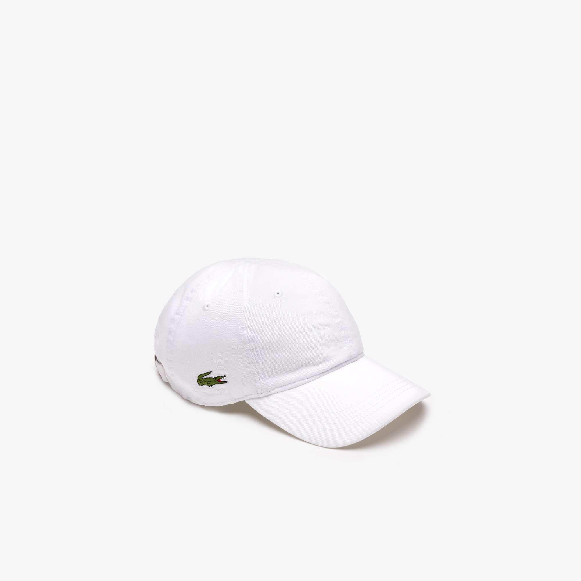 79b66f6a Details about Lacoste Cotton Cap White